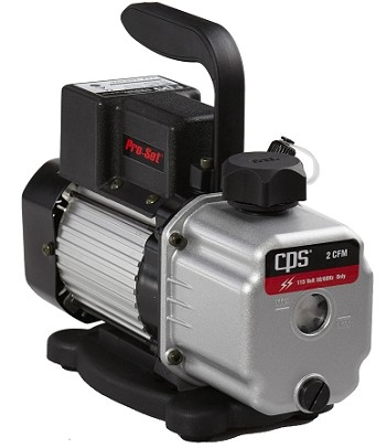 CPS VPC2DU Compact Series Vacuum Pump 2 CFM Two-Stage - 115V